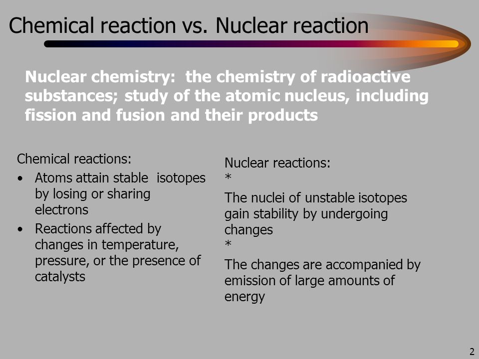 Ch 25 Nuclear Chemistry Originally Ch 18 From Old