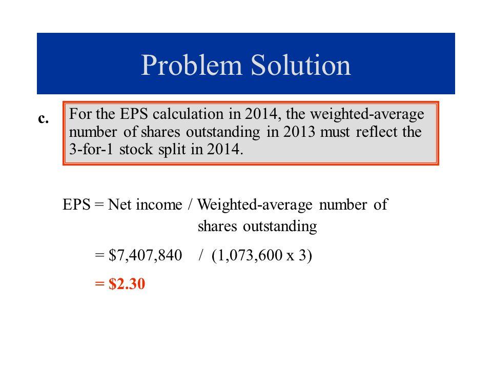 Reverse stock split.