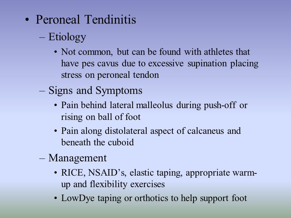 signs and symptoms tendinitis Tendinosis describes pain and inflammation in the tendon and may affect tendons in the shoulder, knee, wrist, elbow, finger, thigh or heel the condition may be caused by tears in the tissue.