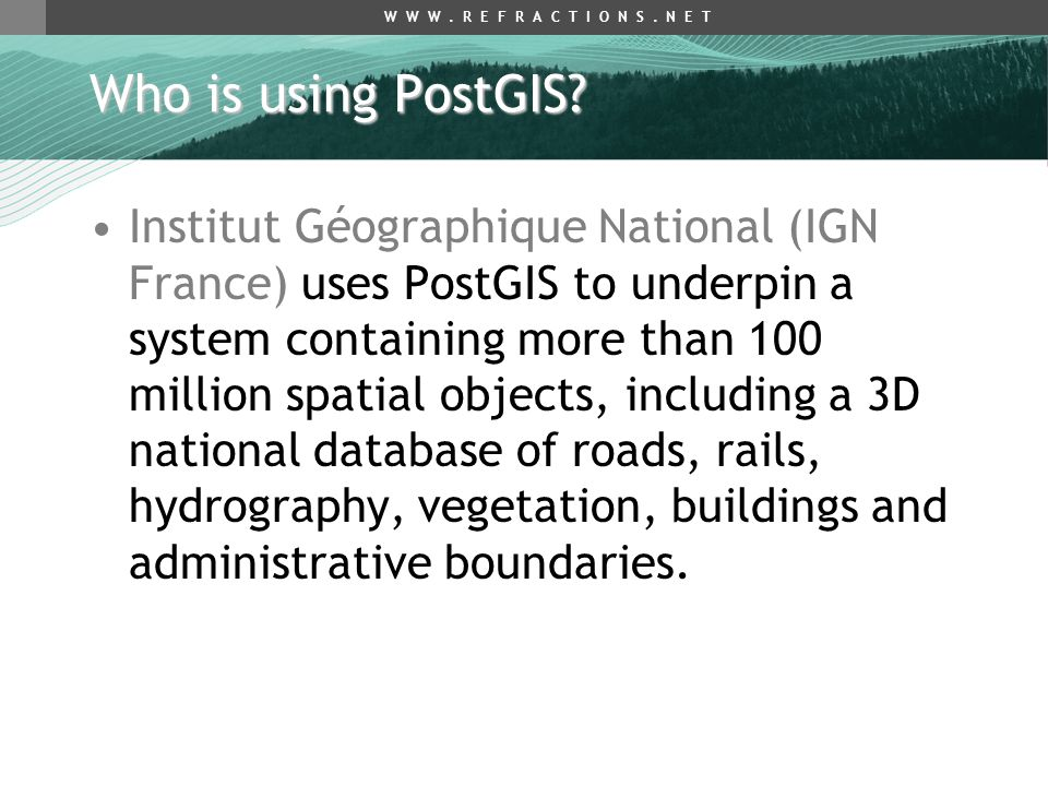Introduction to PostGIS - ppt download
