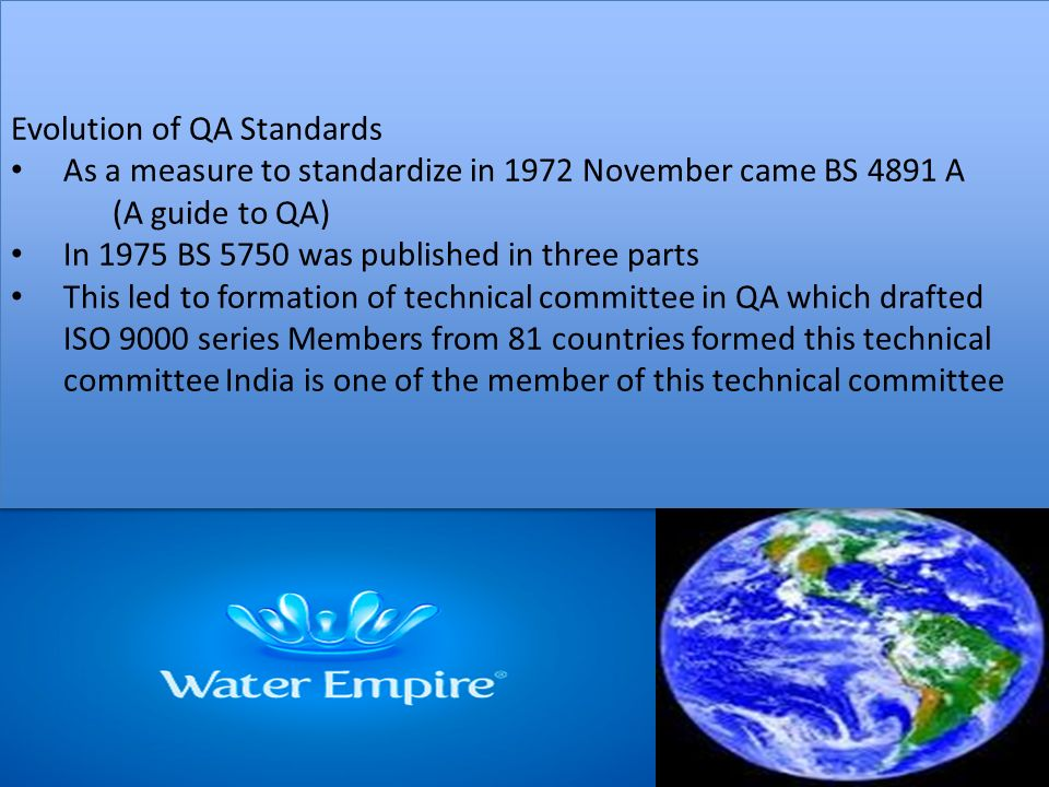 Quality Management System BY CDR ALOK MOHAN - ppt download