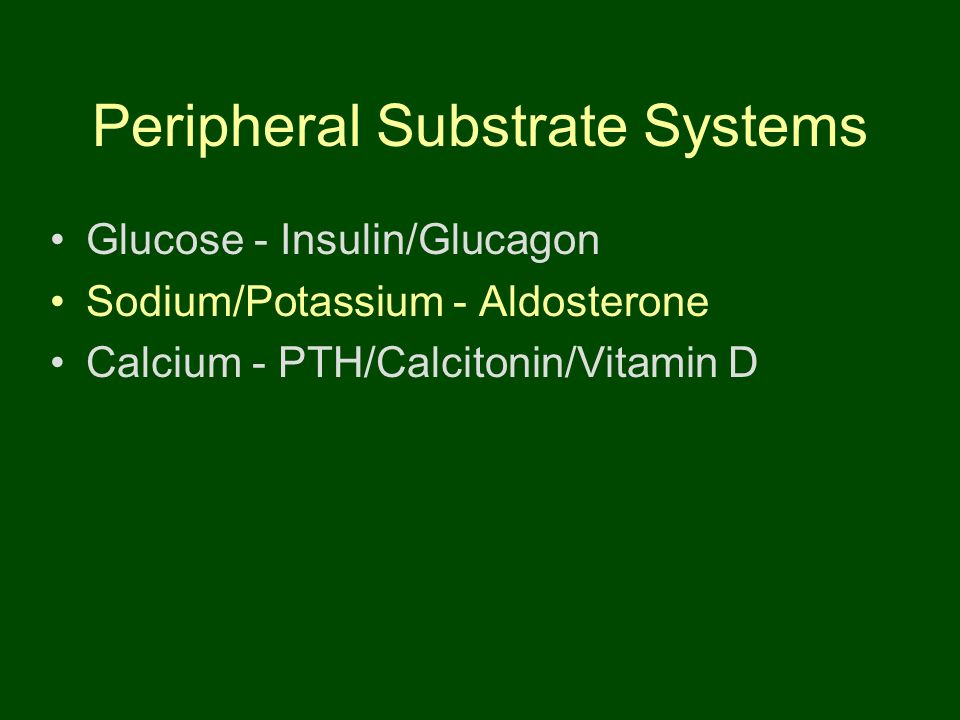 Peripheral Substrate Systems