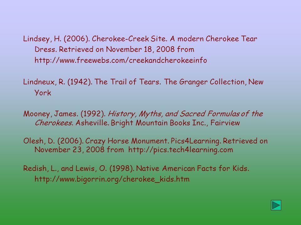 Cherokee Facts