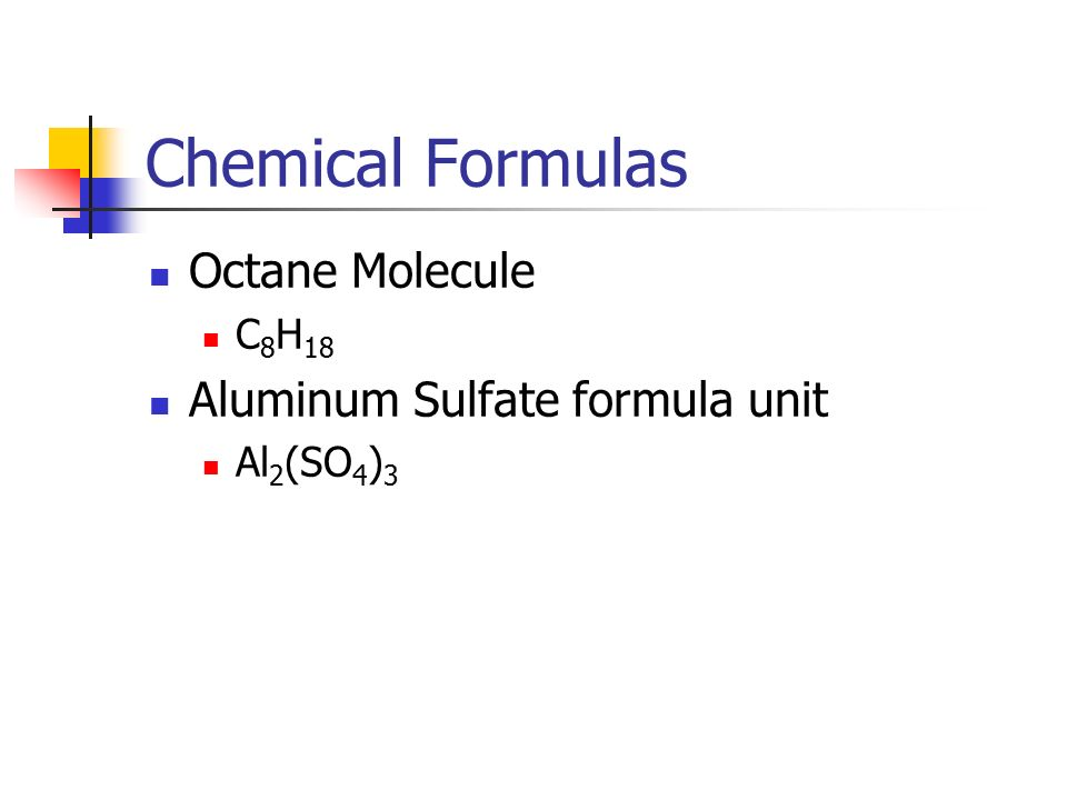Chemical Formulas And Chemical Compounds Ppt Video Online Download