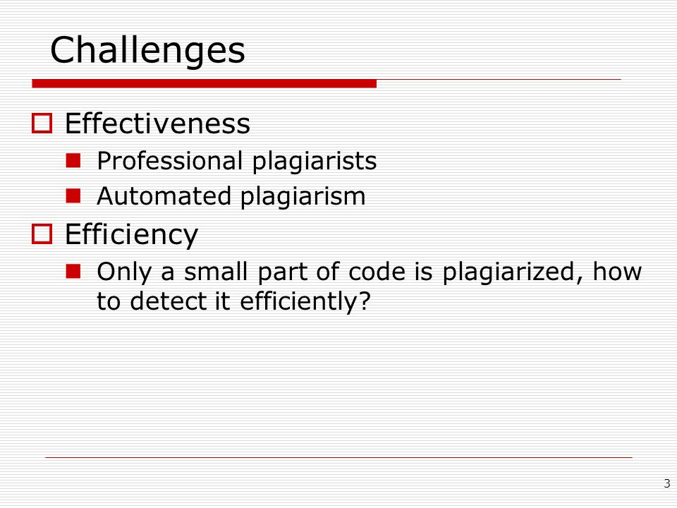Challenges Effectiveness Efficiency Professional plagiarists