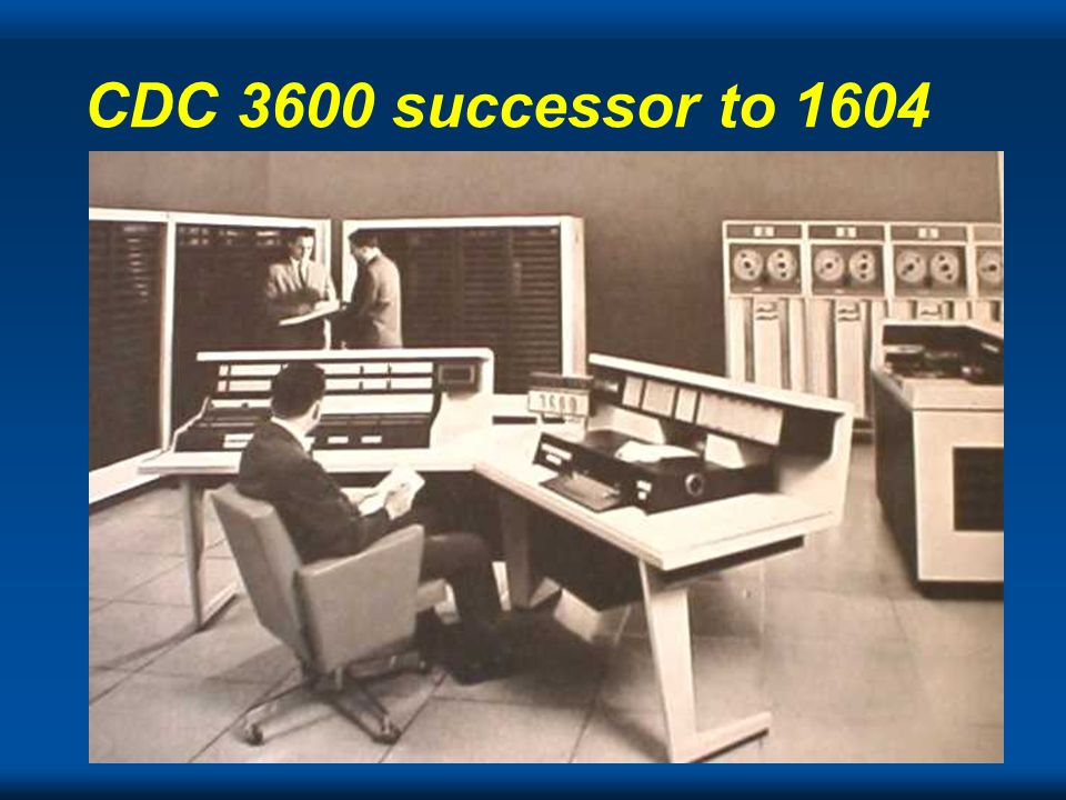 CDC 3600 successor to 1604
