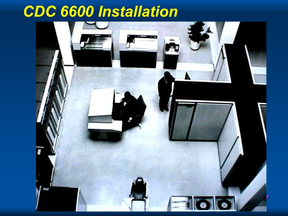 CDC 6600 Installation
