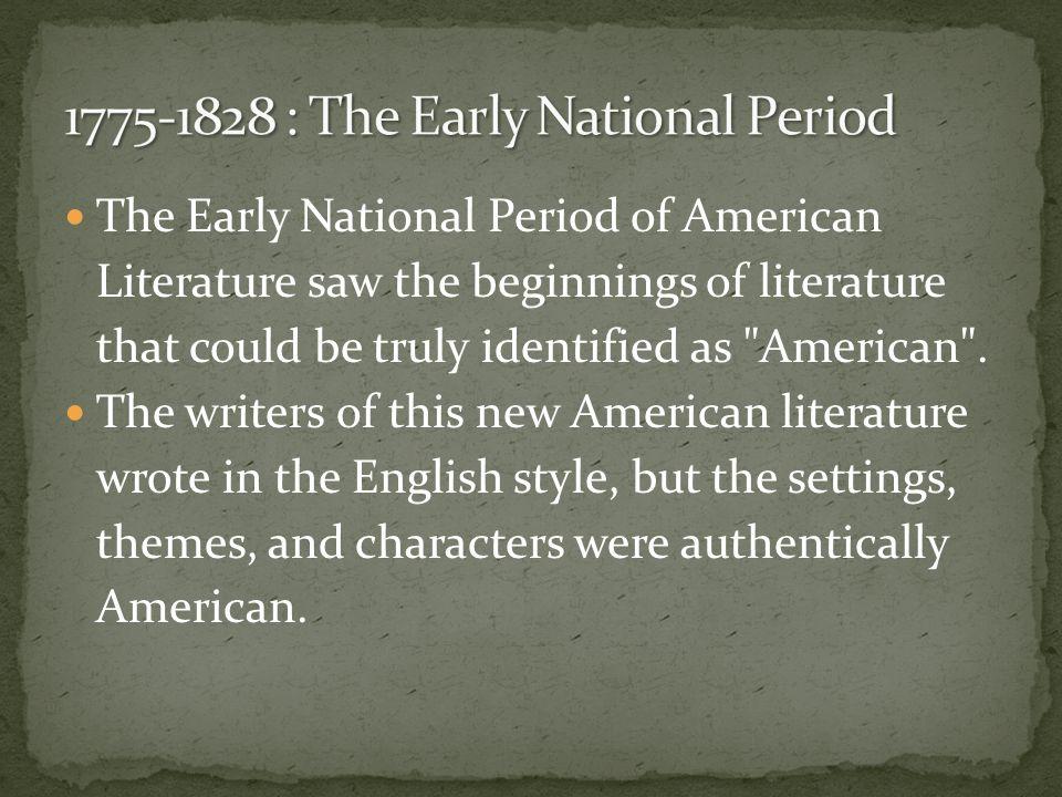 new american writers