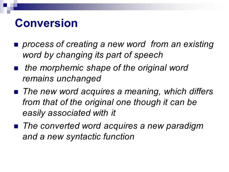 By Photo Congress || Conversion Meaning