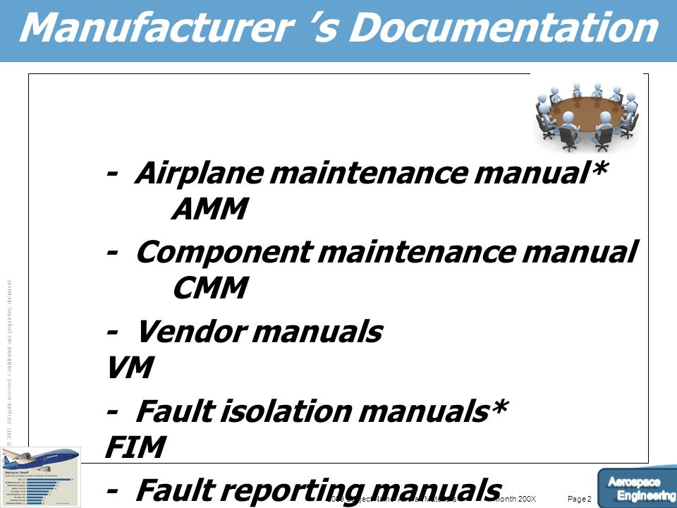 Documentation and requirement for maintenance program ppt video 3 manufacturer s documentation asfbconference2016 Gallery