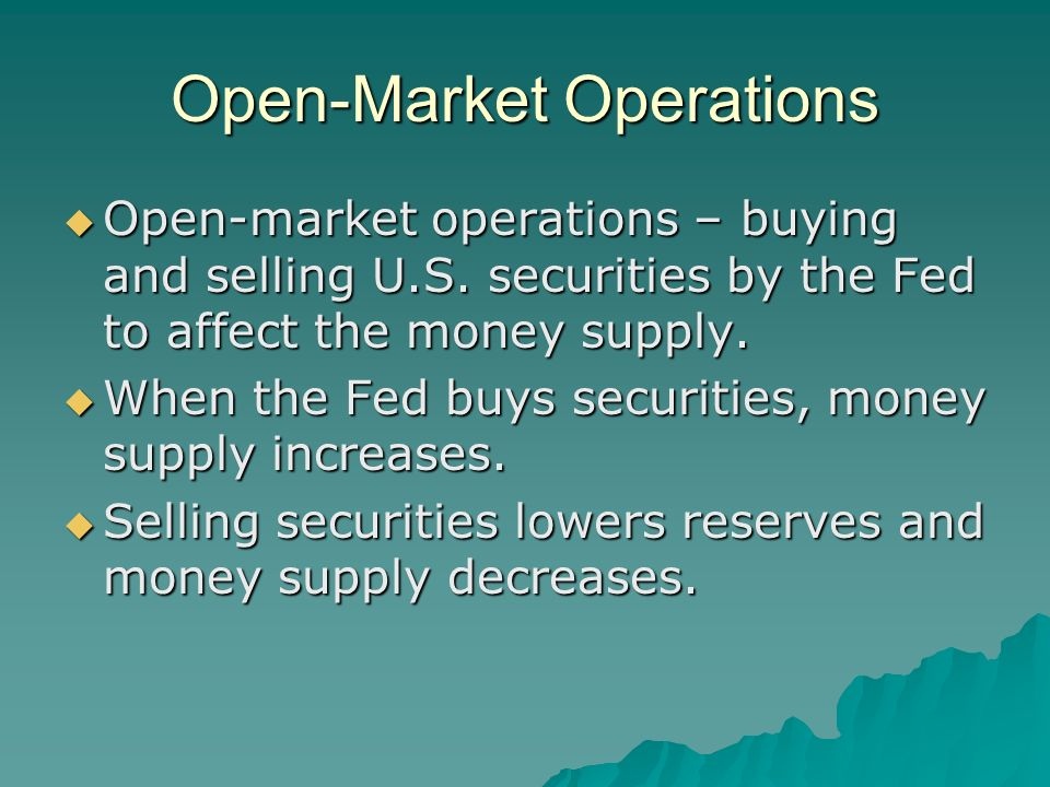 Open-Market Operations