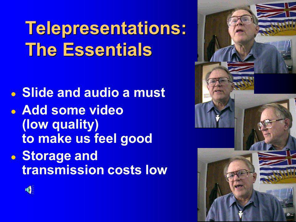 Telepresentations: The Essentials