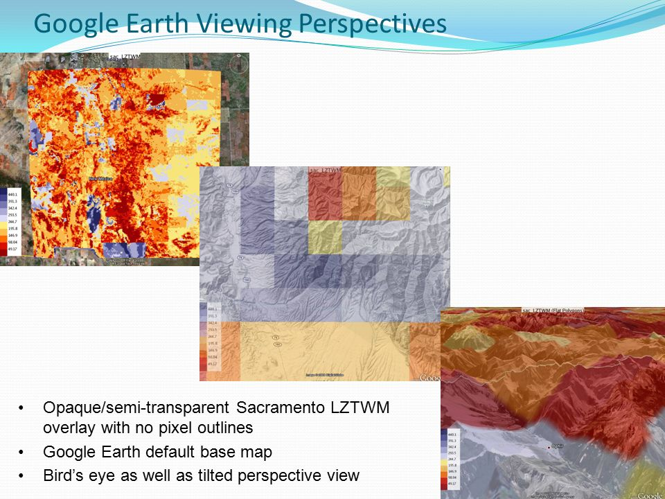 Google Earth: A New Display Tool for Hydrologic Data Sets - ppt