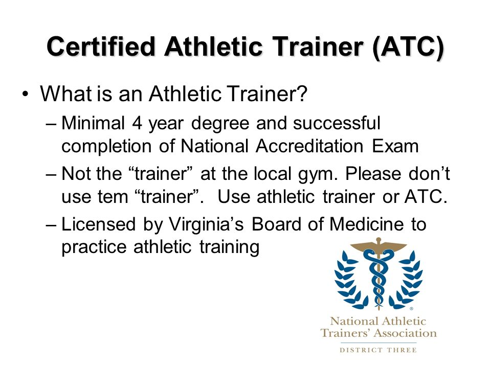 Tjs Athletic Trainers Ppt Download