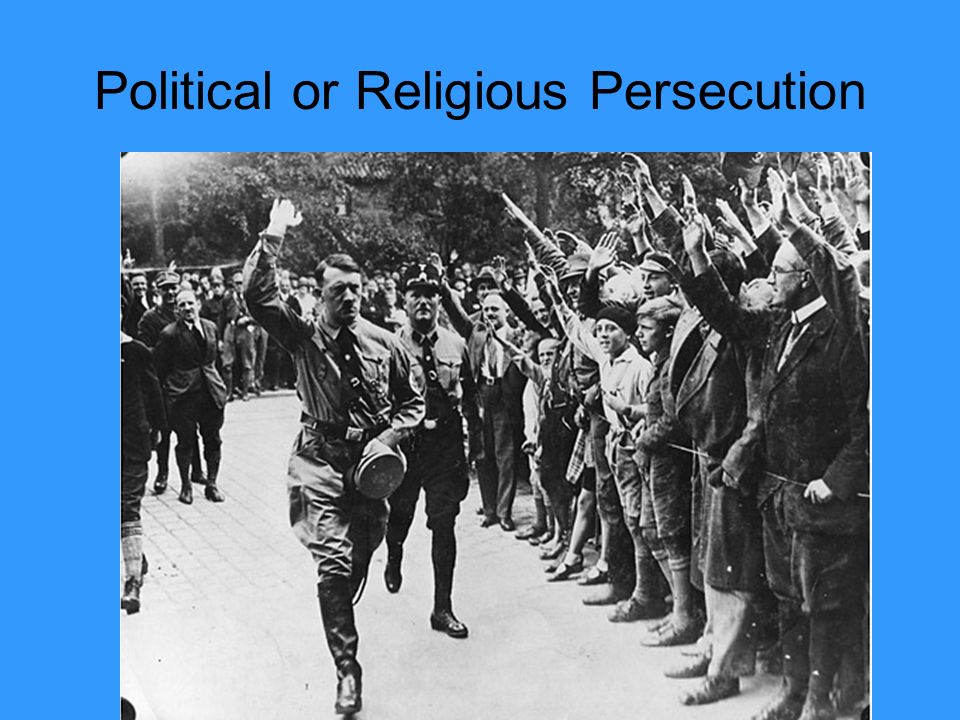 Political or Religious Persecution