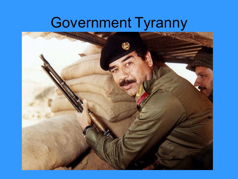 Government Tyranny