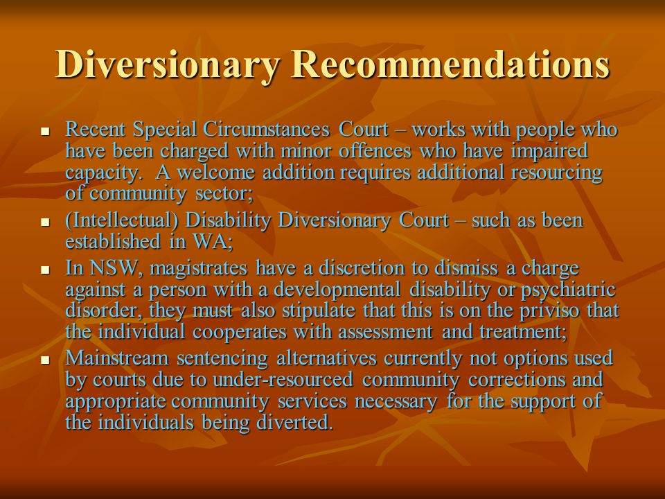 Diversionary Recommendations