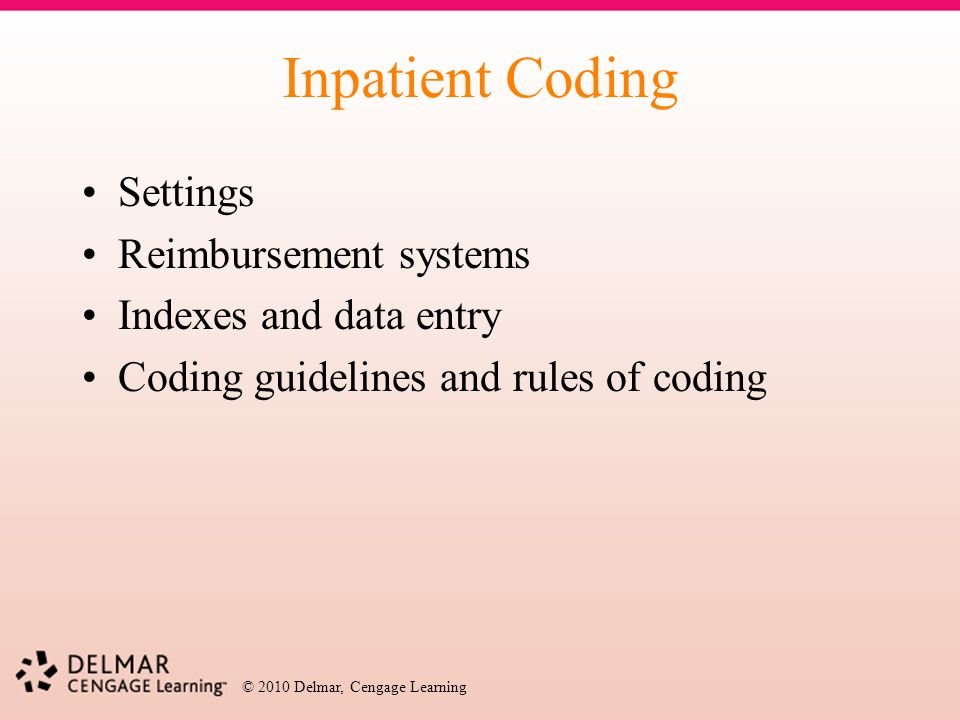 icd 9 cm hospital inpatient coding ppt download rh slideplayer com Physician Coding E M Coding Card