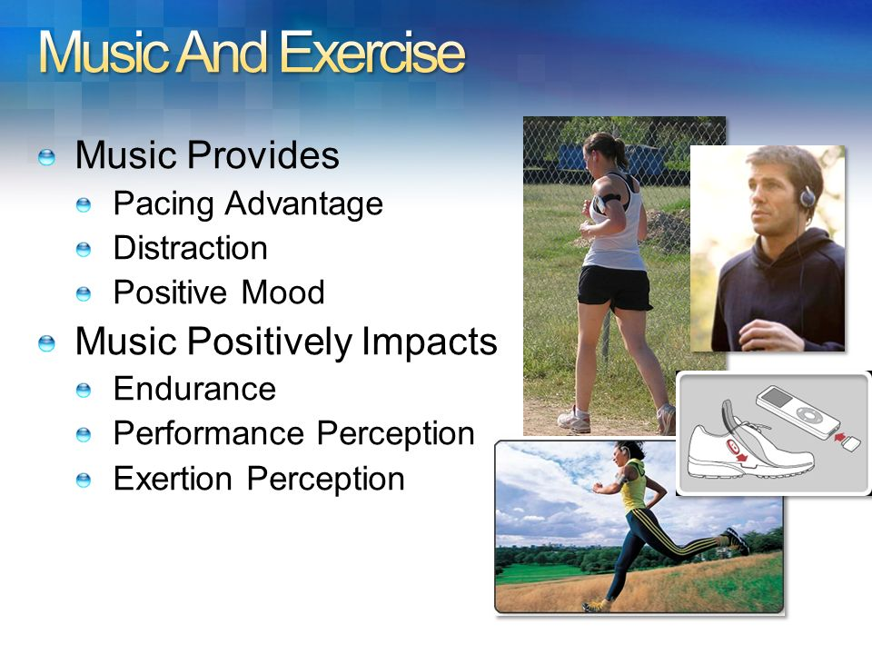 Music And Exercise Music Provides Music Positively Impacts