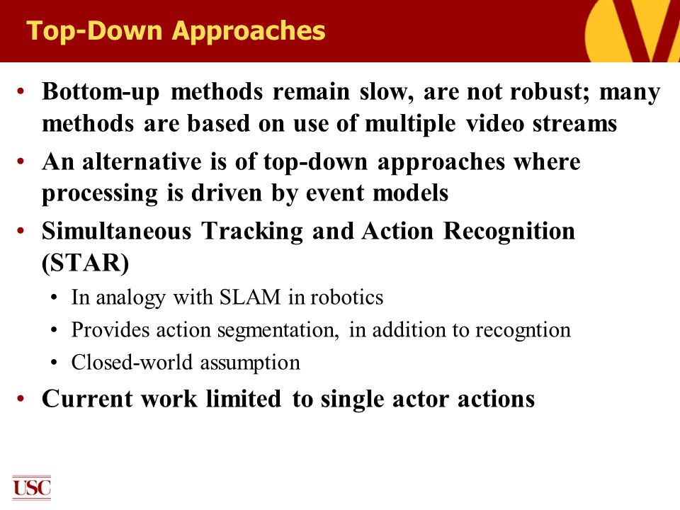 Simultaneous Tracking and Action Recognition (STAR)