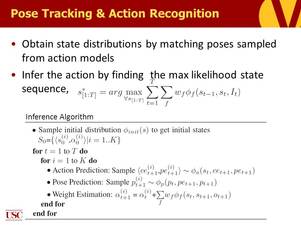 Pose Tracking & Action Recognition