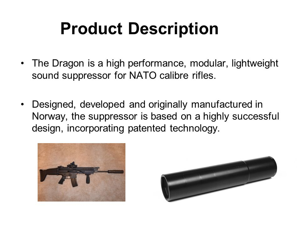 Dragon Suppressors (Hunting and Sporting) - ppt video online