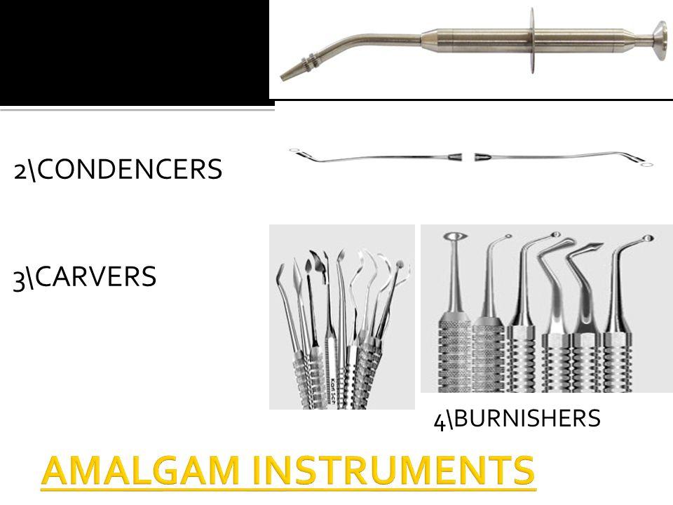 amalgam carrier function