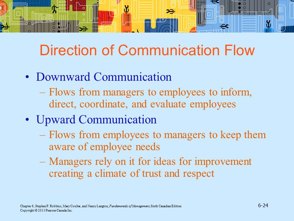Direction of Communication Flow