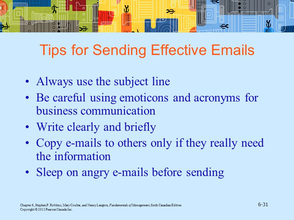 Tips for Sending Effective  s