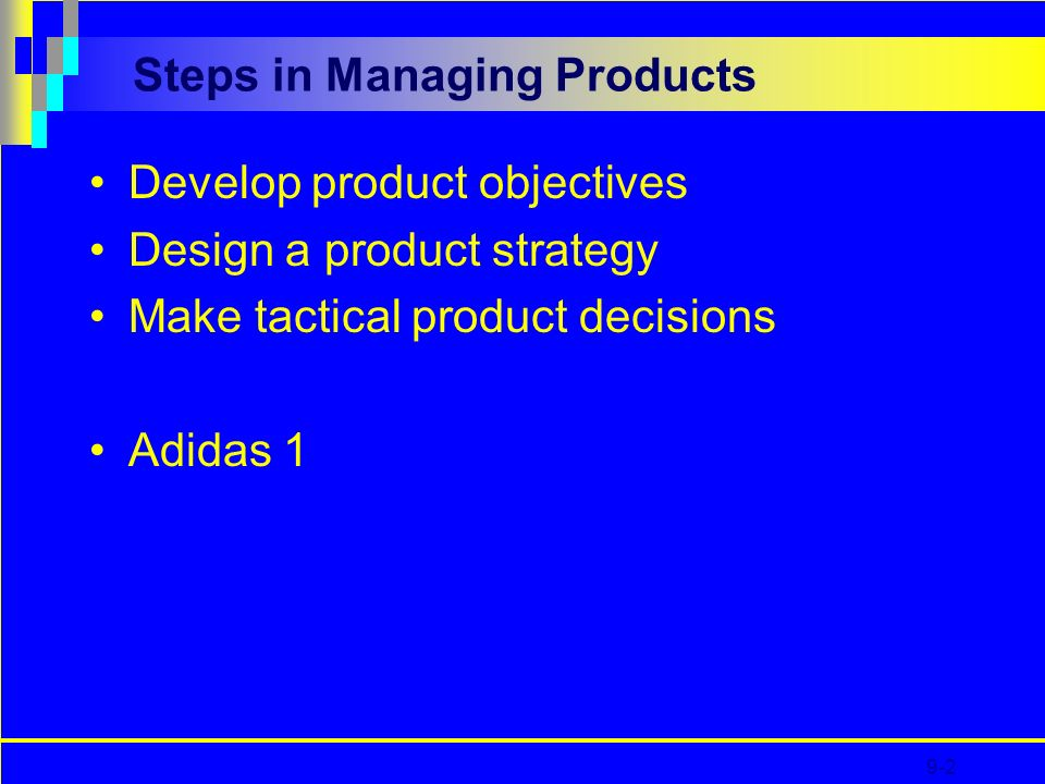 CHAPTER 9 Managing the Product - ppt video online download