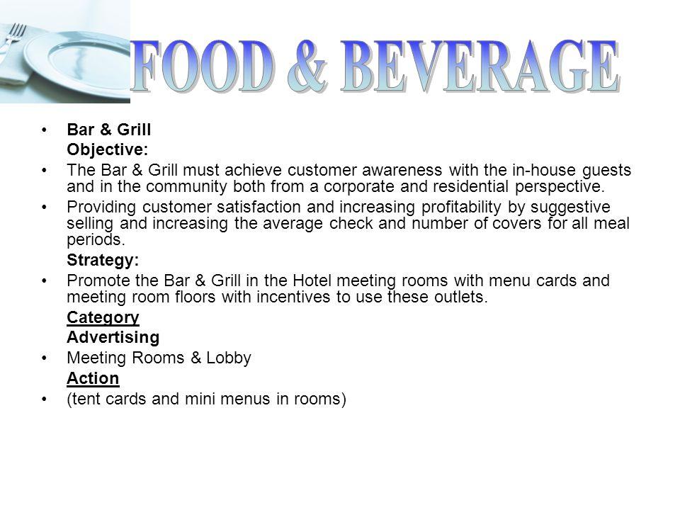Food Beverage Business Plan Ppt Video Online Download