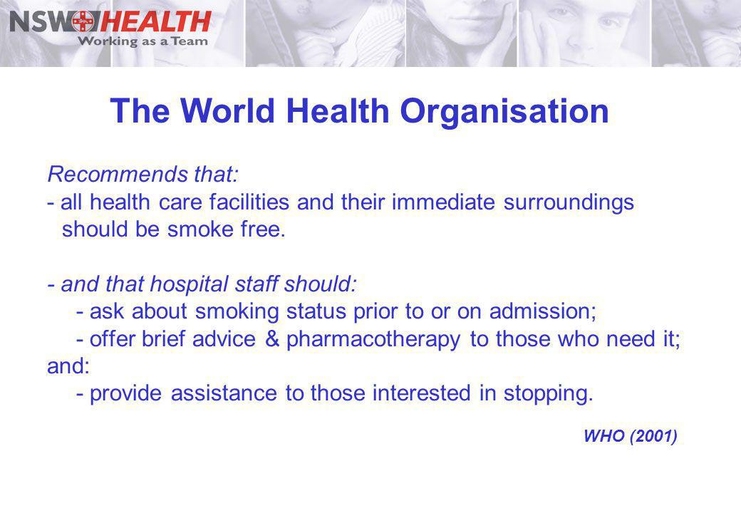 The World Health Organisation