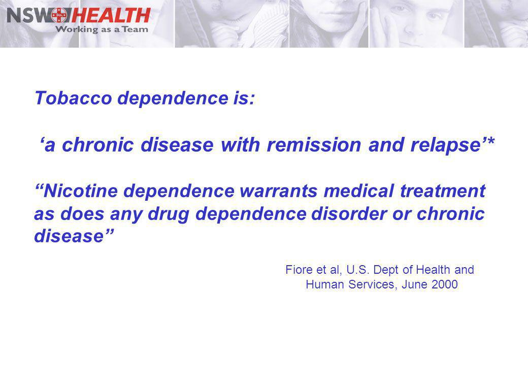 Fiore et al, U.S. Dept of Health and