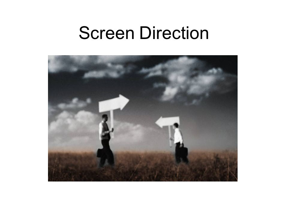 Screen Direction