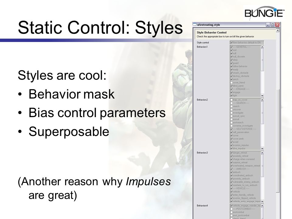 Static Control: Styles