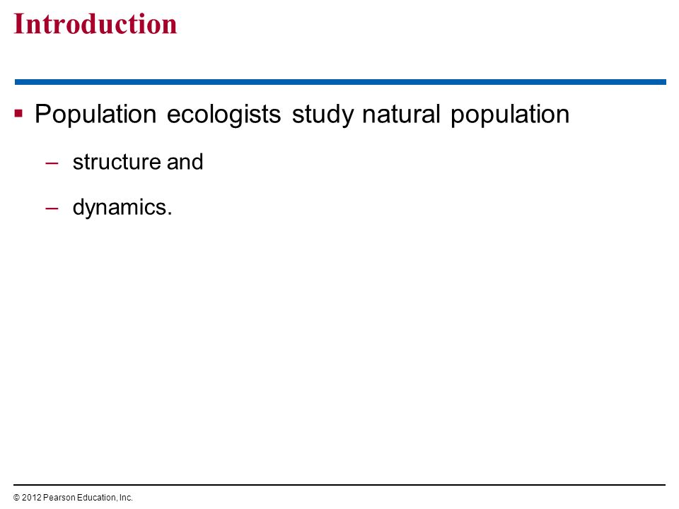 chapter 36 population ecology ppt download rh slideplayer com Cambell Biology Chapter 48 Campbell Biology 9th Edition Homework Chapter 22