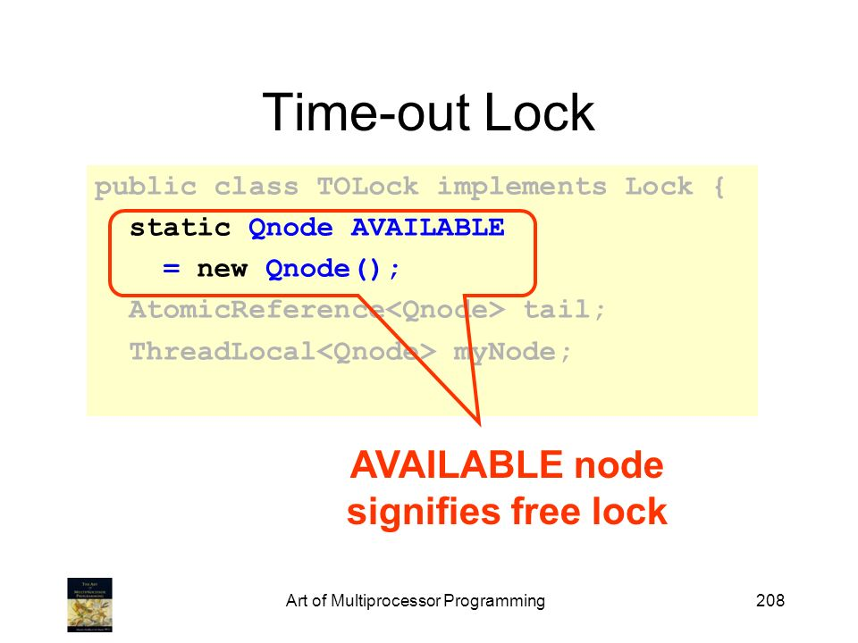 AVAILABLE node signifies free lock