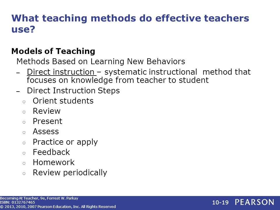 Becoming A Teacher Ninth Edition Ppt Video Online Download