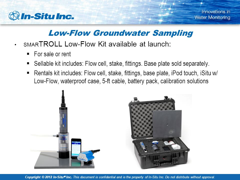 In-Situ® Water Quality Sensors - ppt video online download