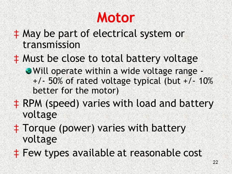 Battery Buggy \'11 Dennis Papesh cc) Bro - ppt video online download