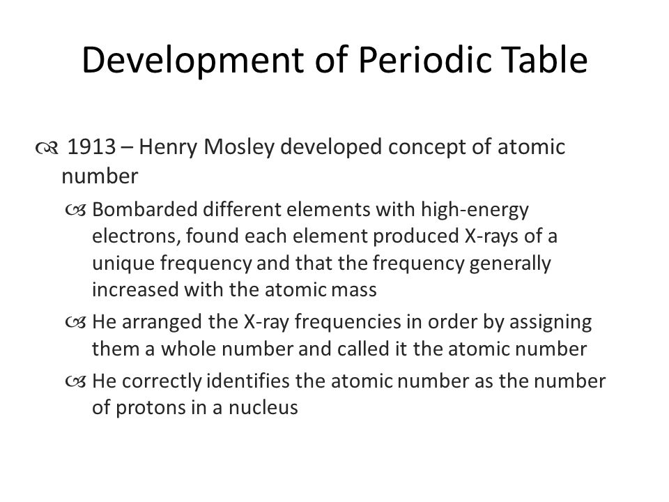 Periodic table it is a systematic catalog of the elements ppt development of periodic table urtaz Images
