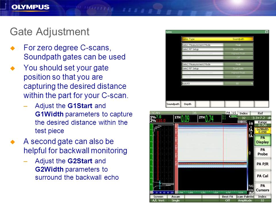 EPOCH 1000i Feature Overview Encoded and Timed C-scan - ppt