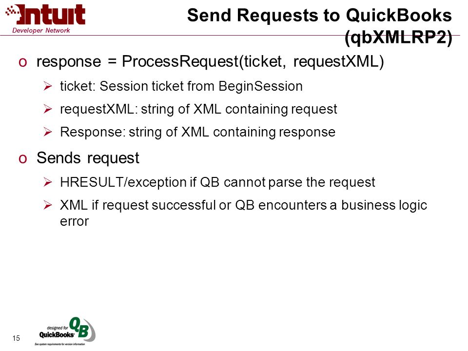 QuickBooks SDK Essentials - ppt download
