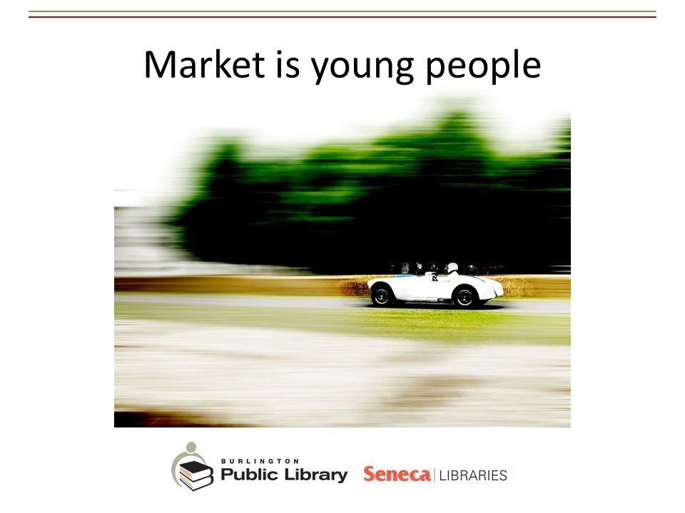 Market is young people