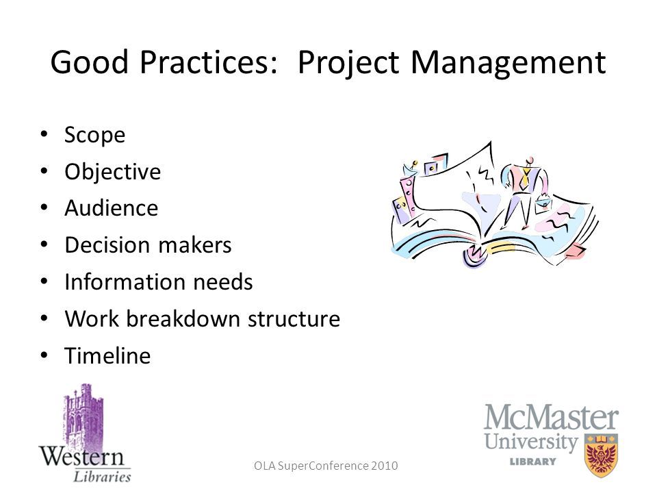 Good Practices: Project Management
