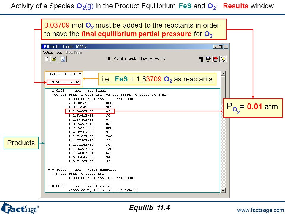 The Equilib module – Regular Features - ppt download