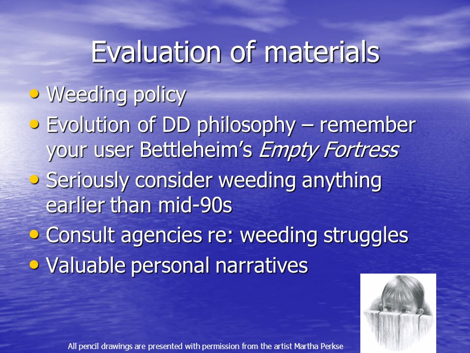Evaluation of materials