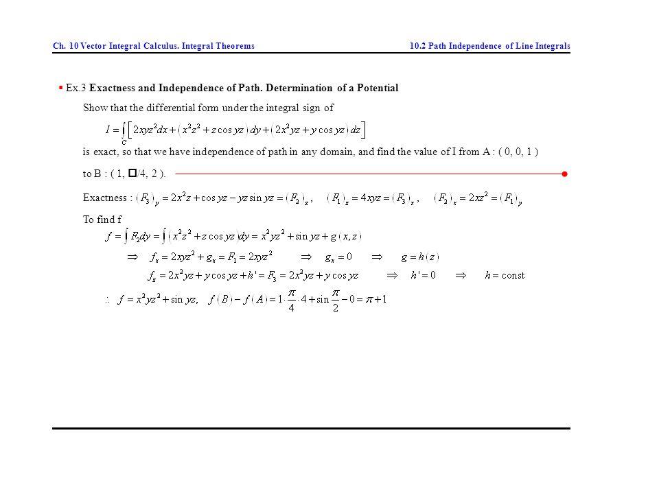ch  10 vector integral calculus