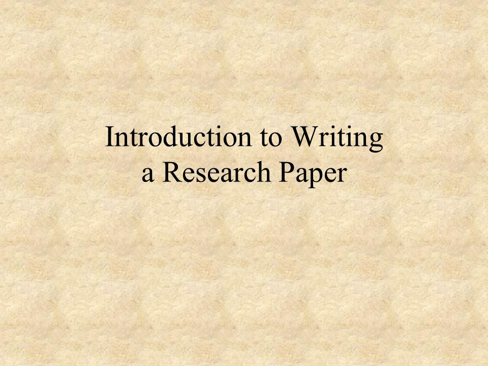 intro for a research paper Research paper intro help, - thesis statement william shakespeare meeting the deadline is one of the main requirements for any paper — so our essay writing service.