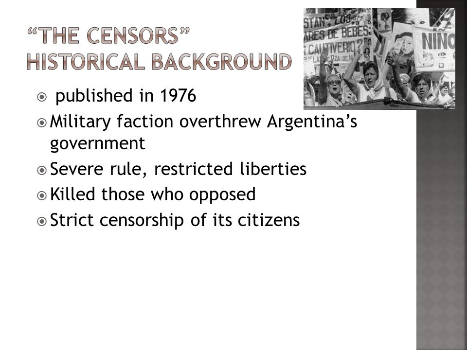 the censors